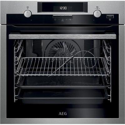 תנור אפיה בנוי פירוליטי AEG תוצרת גרמניה דגם BPE552320M