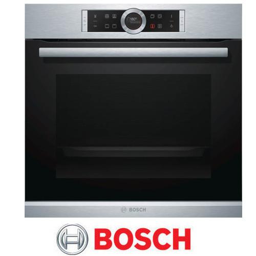 תנור בילד אין בוש 13 תוכניות נפח תא אפיה 71 ליטר דירוג אנרגטי A בגימור נירוסטה דגם HBG634BS1