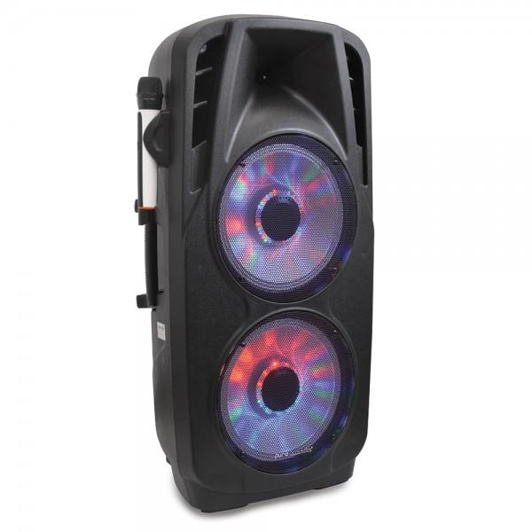 """רמקול בלוטות' נייד מוגבר עם שני וופרים """"12 דגם LX-1212 מבית Pure Acoustics"""