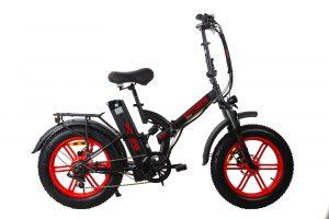 אופניים חשמליים EXTREME Power פוויר 20.8AH FAT BIKE 48V שיכוך מלא
