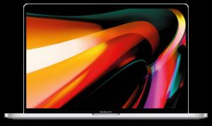 Apple MacBook Pro 16″ Retina 2.4GHz i9, 2TB SSD, 32GB, Radeon Pro 5500M 4GB, Touch Bar – Silver מק בוק פרו