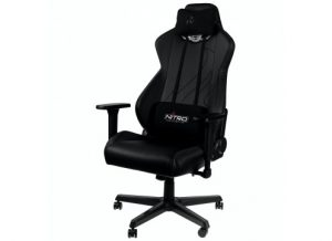 NITRO CONCEPTS S300 EX GAMING CHAIR STEALTH BLACK כסא גיימינג